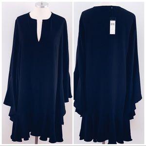 BCBGMAXAZRIA Black Shift Dress $168 Sz. XS/S NWT